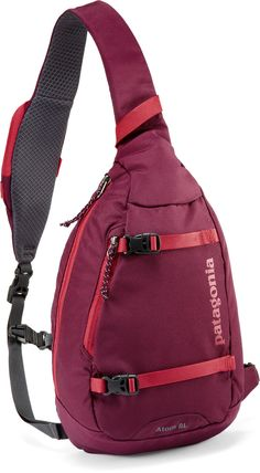 Patagonia Atom Sling Bag Would go perfect with a north face and some leggings!!! ♡