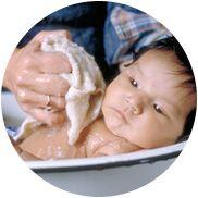 L'heure du bain - La santé de votre bébé - Prendre soin de vous et de votre bébé