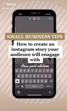 Best Small Business Ideas, Small Business Plan, Successful Business Tips, Small Business Organization, Instagram Tips, Instagram Business Ideas, Social Media Marketing Business, Business Planner, Business Inspiration
