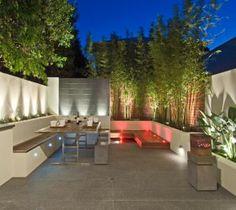 Fresh + modern inner city courtyard garden | Designhunter - architecture & design blog