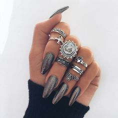 Imagem de fashion, accessories, and black