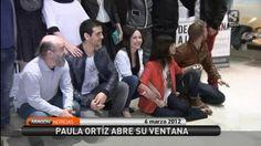El ACTOR PABLO RIVERO presentando DE TU VENTANA A LA MÍA a los medios en Madrid (6 marzo 2012).Captura Aragon noticias.