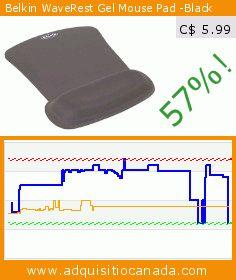 Belkin WaveRest Gel Mouse Pad -Black (Personal Computers). Drop 57%! Current price C$ 5.99, the previous price was C$ 13.97. https://www.adquisitiocanada.com/belkin-components/belkin-f8e262-blk