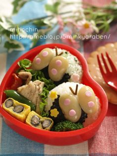 beans butterfly bento