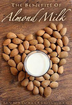 The Benefits of Almond Milk