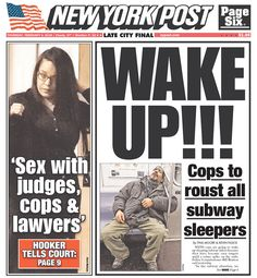 #20160204 #USA #NYC #NewYorkCity #NewYorkPost Thursday FEB 4 2016 http://www.newseum.org/todaysfrontpages/?tfp_show=80&tfp_page=6&tfp_id=NY_NYP