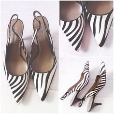 "Via Spiga zebra print kitten heels These are brand new, very classic with the pointy and kitten heels details. It would make great work shoes or it can also plays up a casual outfit. Very nice high quality faux pony hair material. NO TRADE, NO LOWBALLING, NO RUDENESS. I don't discuss prices on listing so please use the ""offer"" feature. Via Spiga Shoes Heels"