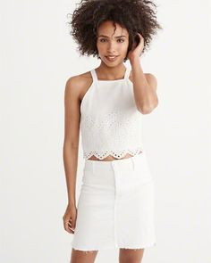 Womens Shirts & Blouses | Abercrombie & Fitch