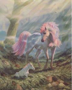 unicorn and baby