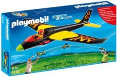 Playmobil – 5215 – Jeu de Construction – Planeur Aventure
