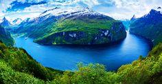 Geirangerfjord, Møre og Romsdal, Norway