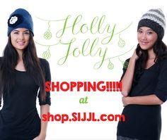 For Holly Jolly Christmas, visit shop.SIJJL.com smile emoticon