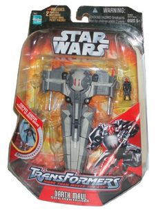 Transformers Star Wars Series 7 Inch Tall Action Figure  DARTH MAUL to SITH INFILTRATOR with 2 Missile and Darth Maul Mini * Check this awesome product by going to the link at the image.Note:It is affiliate link to Amazon.