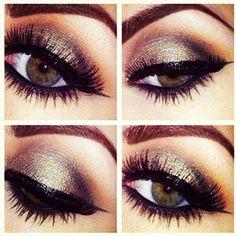 Eye Makeup Tips.Smokey Eye Makeup Tips - For a Catchy and Impressive Look Hazel Eye Makeup, Smokey Eye Makeup, Love Makeup, Skin Makeup, Makeup Tips, Beauty Makeup, Makeup Looks, Makeup Ideas, Gorgeous Makeup