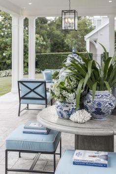Hamptons Style home in Queensland by Verandah House design
