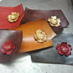 Tundraberry: How I Make My Leather Flowers