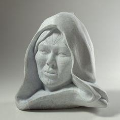 Labrador Madonna by Billy Gauthier, Inuit artist (LG120402)