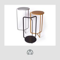 Superbly minimalist 'Regular' table from Mock Mock by Pieter Henning. Available from www.africandy.com. Fine Furniture, Furniture Design, African Design, Stool, Minimalist, Side Tables, Home Decor, Decoration Home, Nightstands And Bedside Tables