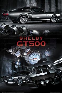 "1967 Ford Shelby Mustang ~ GT500 ~ ""Eleanor"" ~"
