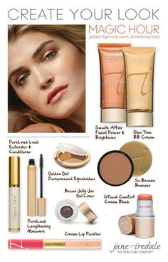 Create your look with Jane Iredale!