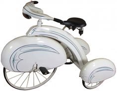 Sears & Roebuck Child's Tricycle - I had to share my tricycle.if it had looked like this, there would have been 'no sharing! Art Nouveau, Antique Toys, Vintage Toys, Velo Retro, Kids Ride On, Old Bikes, Pedal Cars, Vintage Bicycles, Art Deco Design