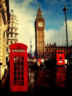 Beautiful, beautiful London..