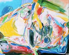 Sérénité Aubaine - Artist: Asger Jorn Completion Date: 1970 Style: Tachisme Genre: abstract