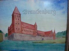 Die Burg im Dorf Brandenburg - Ostpreussen