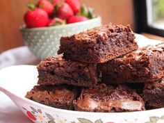 THE Best Brownies on the Planet via prettykittenskitchen