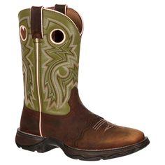 Durango Women's 10 Saddle Lady Rebel Cowboy Boot - Light Green 11