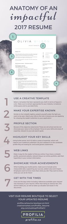 This resume template will stand-out from the sea of applicants - impactful resume update