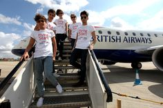 Flying Start offered the opportunity to win a flight with One Direction
