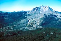Mt Lassen. I've hiked the peak 3 times. The whole park is great. Pygmie forest, bumpass hell, kings creek, sulpher works. Good family fun.