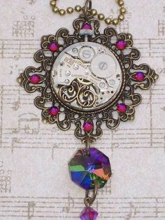 My New Fall 2009 Steampunk Jewelry Collection- Image HUGE - CRAFTY BUSINESS ADVICE- Knitting, sewing, crochet, tutorials, children crafts, papercraft, jewlery, needlework, swaps, cooking and so much more on Craftster.org