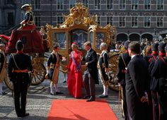 Máxima kiest voor Belgische hoed van Fabienne Delvigne op Prinsjesdag