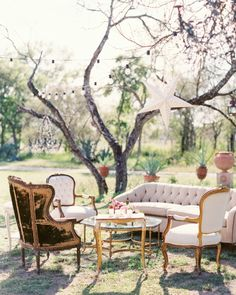 Cool Outdoor Wedding Lounge Tips and Ideas - crazyforus