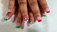 Super Mario Bros. Nail art