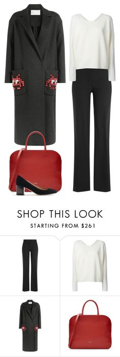 """""""Space Invader"""" by cherieaustin on Polyvore featuring Helmut Lang, Anya Hindmarch, Nina Ricci and J.Crew"""