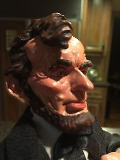 Selling in one hour via auctio Simpich Character Doll - Lincoln - Limited Edition 638/1000,  1992