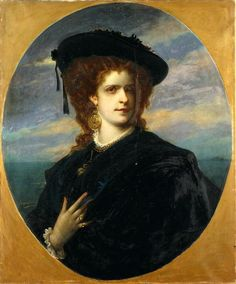 Queen Maria Pia de Sabóia (147-1911), painted in 1876 by Layraud - National Costume Museum