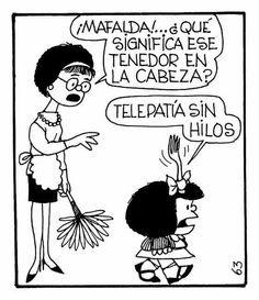 Telepatia de #mafalda