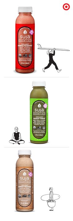 Jump-start healthy eating habits by pairing Suja juices with food to keep you at your best. All Suja Essentials are organic, non-GMO and cold-pressured—perfect for on-the-go lunches or a quick tasty snack.