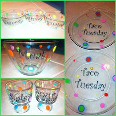 Taco Tuesday vinyl craft on my silhouette cameo!