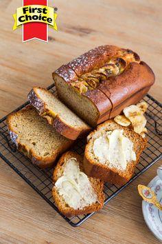 An easy, no-fuss tea-time treat. A delicious Banana Bread Recipe. Fresh Milk, Pan Bread, Recipe Directions, Banana Bread Recipes, Bananas, Tea Time, Bakery, Vegetarian, Treats
