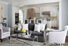 120 Best Stylish Sofas Images On Pinterest Gray Sofa