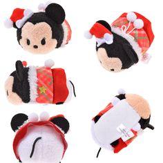 2015 Tsum Tsum Christmas Mrs. Claus Minnie (mini)