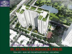 Nhà ở xã hội Lucky House Kiến Hưng tọa lạc tại vị trí CT01 – Khu đất đấu giá tái định cư và Nhà ở xã hội Kiến Hưng – Quận Hà Đông, Hà Nội