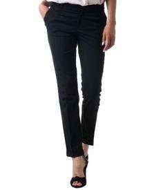 Totally digging Black Cigarette Pants...Very Audrey Hepburn.
