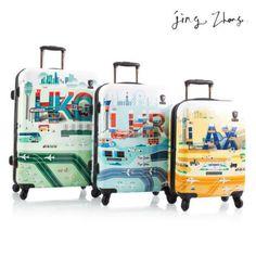 Rockland Luggage 3PC Set Hardcase Spinner Suitcases Vision TSA ...