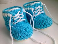 Crochet pattern baby booties  HK7 by HoneyKids on Etsy, $2.50